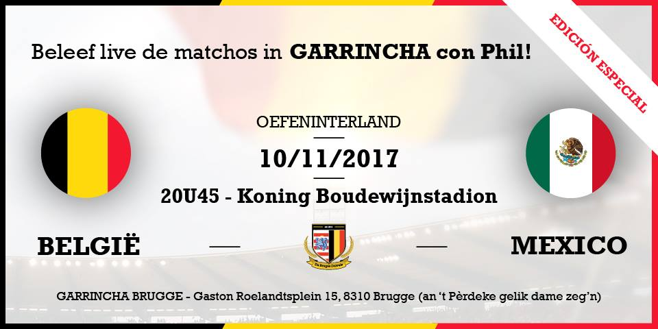 België – Mexico #friendly