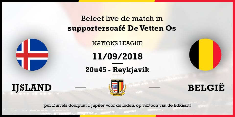 IJsland – België #NationsLeague