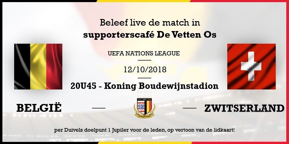 België – Zwitserland #NationsLeague
