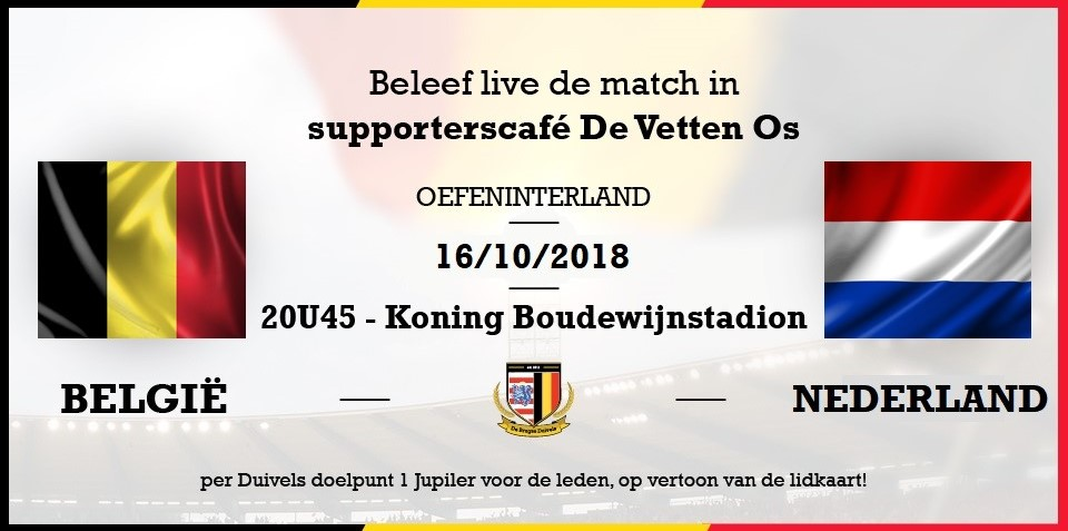 België – Nederland #friendly #DerbyDerLageLanden