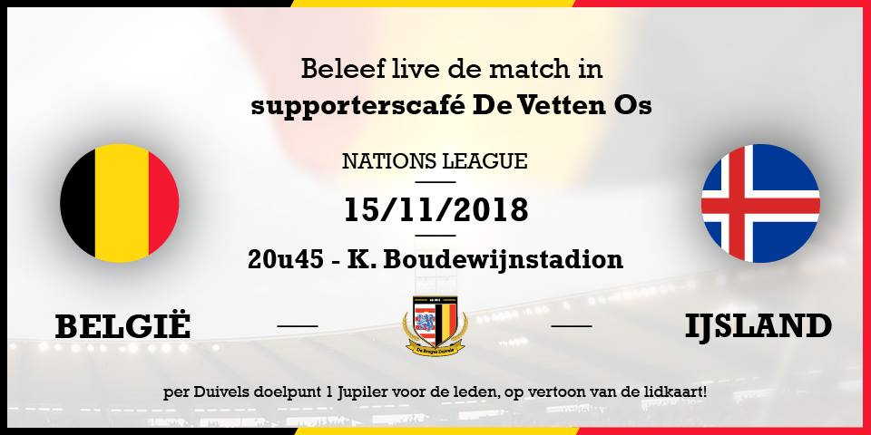 België – IJsland #NationsLeague